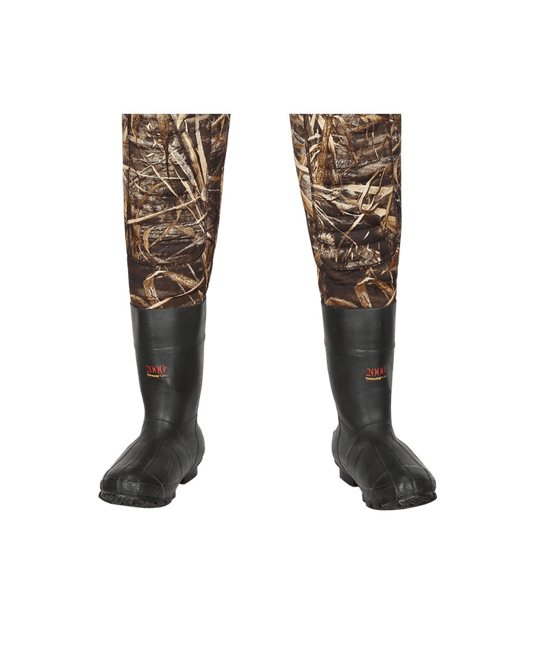 2000gr Thinsulate® rubber boots of Neoprene Hunting Wader Suit