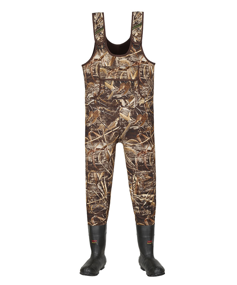 Neoprene Waders With Boots